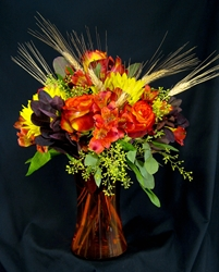 Picture of Fall Bouquet with Wheat