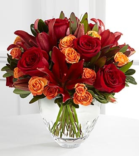 Picture of Vera Wang Autumn Splendor Bouquet