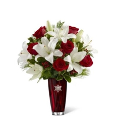 Picture of Holiday Snowflake Bouquet