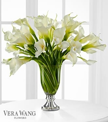 Picture of Musing Luxury Calla Lily Bouquet by Vera Wang