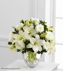 Picture of White Elegance Bouquet by Vera Wang