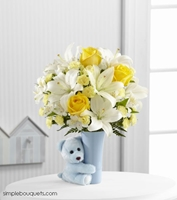 Picture of Baby Boy Hug Bouquet