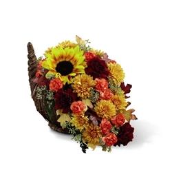 Picture of Fall Harvest Cornucopia
