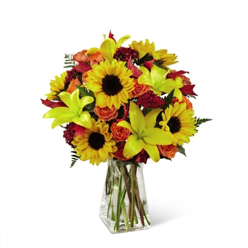 Picture of Harvest Heartstrings Bouquet