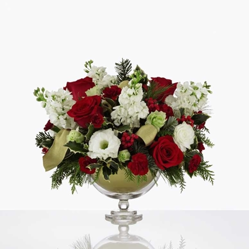 Picture of Holiday Peace Bouquet by Vera Wang