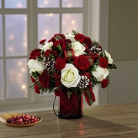 Picture of Holiday Wishes Bouquet
