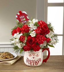 Picture of Believe Mug Bouquet