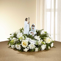 Picture of God's Gift of Love Centerpiece