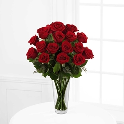 Picture of Long Stem Red Rose Bouquet