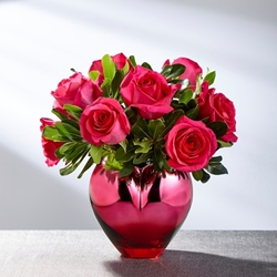 Picture of Hold Me in Your Heart Rose Bouquet