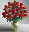 Picture of 24 Red Rose Bouquet