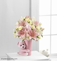 Picture of Baby Girl Hug Bouquet