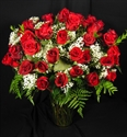 Picture of Four Dozen Roses