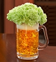 Picture of Green Beer Mug of Blooms